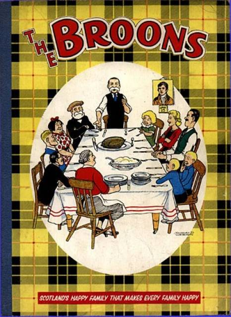 Scriberia top five christmas annuals The Broons