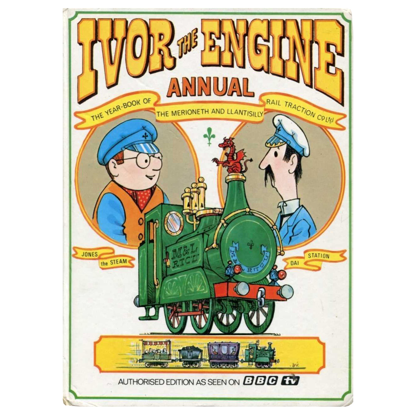 Scriberia top five Christmas annuals Ivor the Engine annual