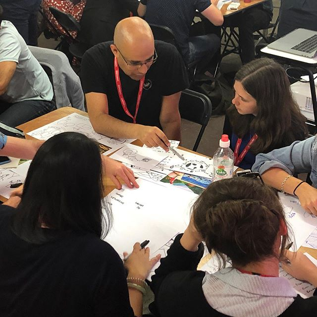 We just ran a packed out #creativeworkshop at #unboundldn sharing our insights on #thinkinginsidethebox and using the power of #drawing to work alongside #constraints and solve #complexproblems Thankfully we bought along some extra #sharpies ✍️ @unboundglobal