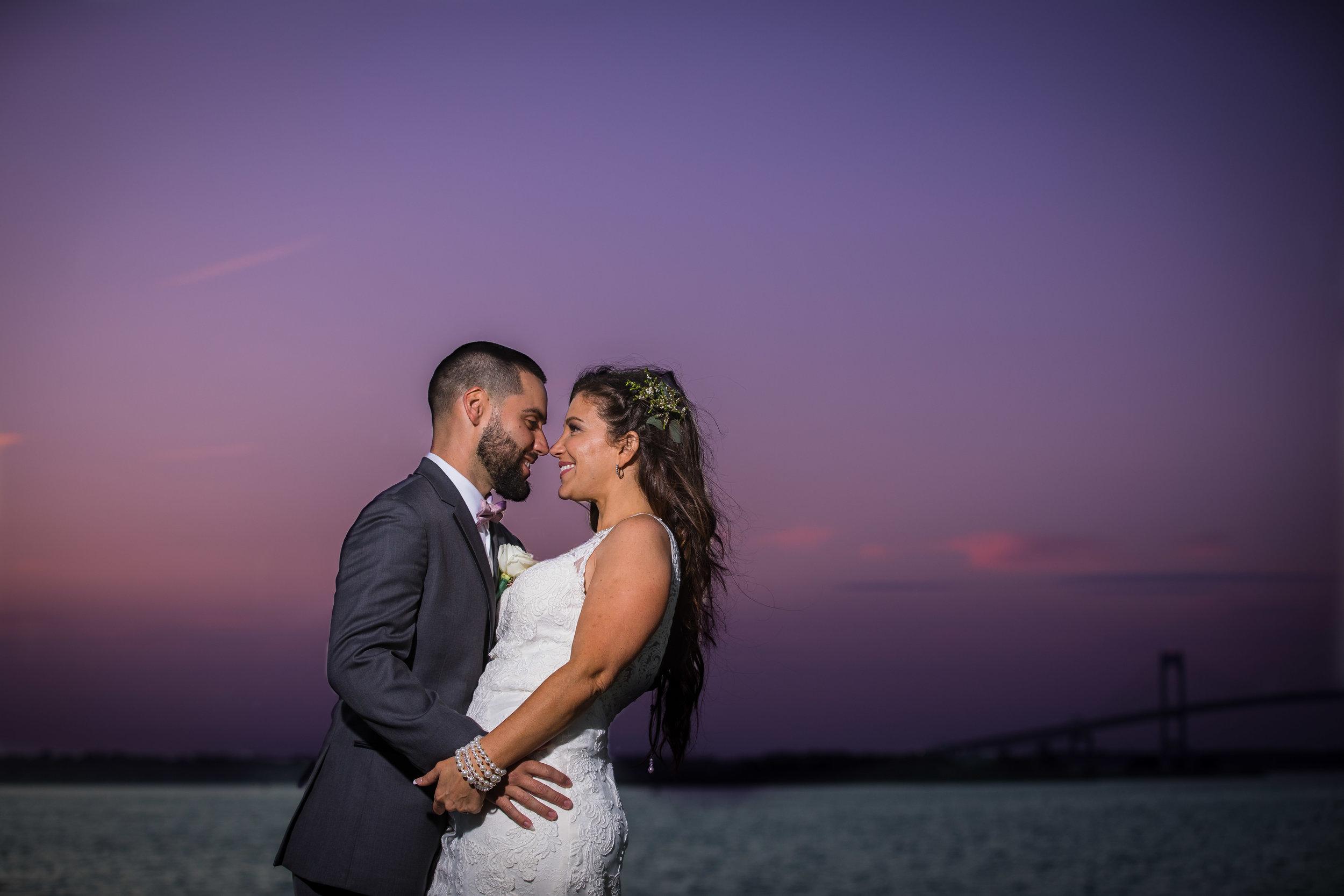 Jeremy & Nikki Belle Mer Photographer Newport Rhode Island