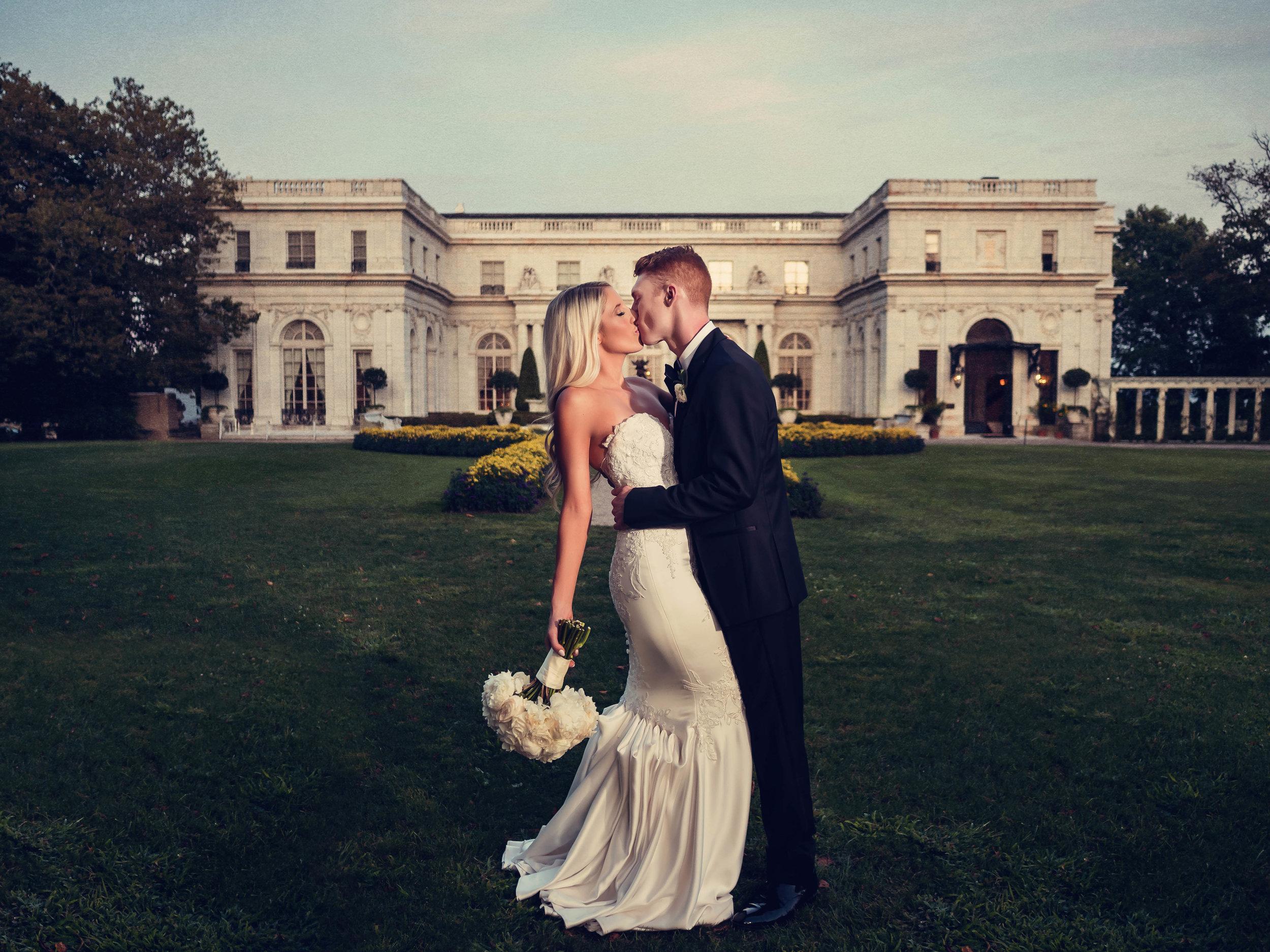 Kendra & Steve Rosecliff Mansion Wedding Newport Rhode Island