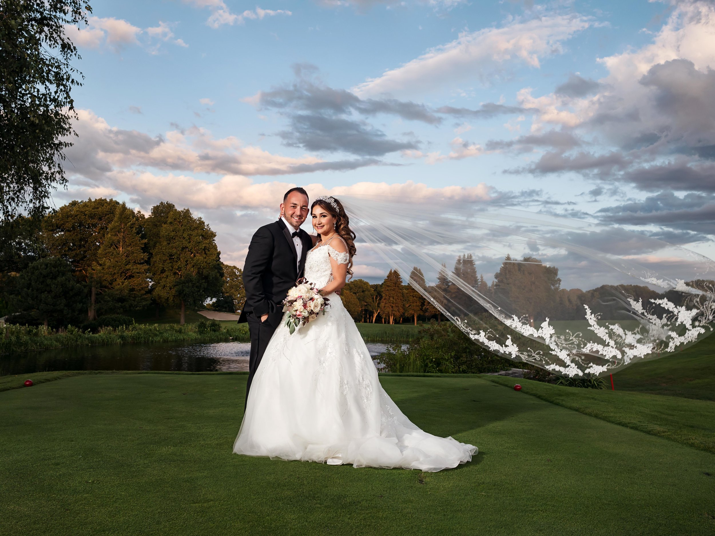 Gabriella and Ben Kirkbrae Country Club Wedding Photographer Lincoln Rhode Island (4).jpg