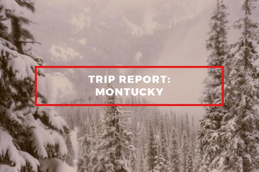 Montana Trip Report