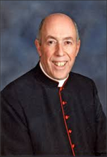 To Msgr. William Belford, Pastor of St. Teresa of the Infant Jesus Church, for his kindness in giving our fraternity a temporary home, 2014-2015.