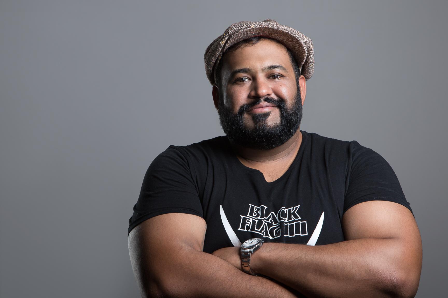 Sameer Naseem Headshot (Taken by Phil Provencio Summer 2017)