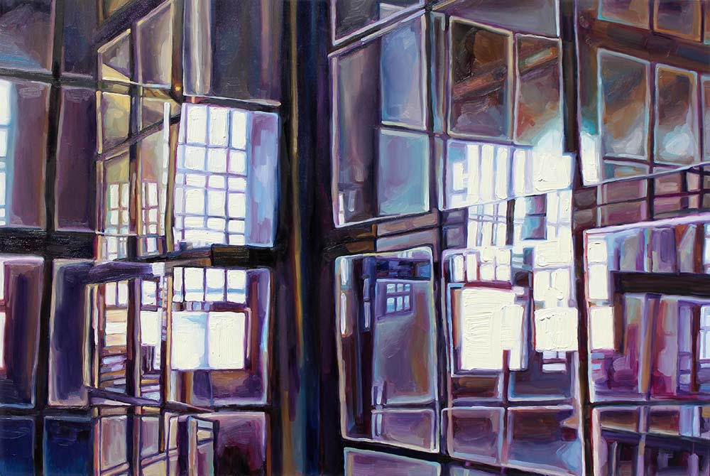 "Metropolitan #2 , 24x36"" oil on panel, 2015"