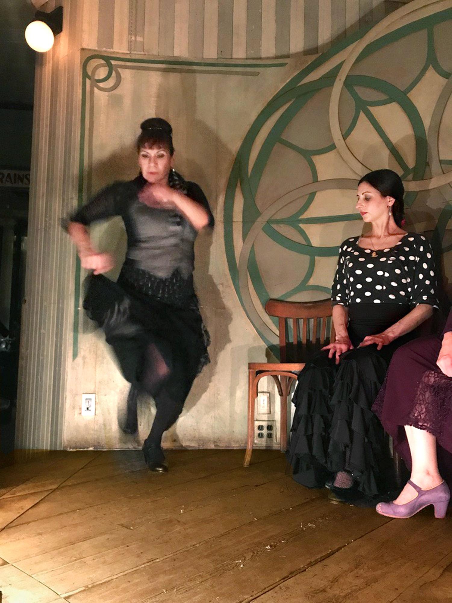 La Conja Flamenco at St. Mazie Bar & Supper Club, Williamsburg
