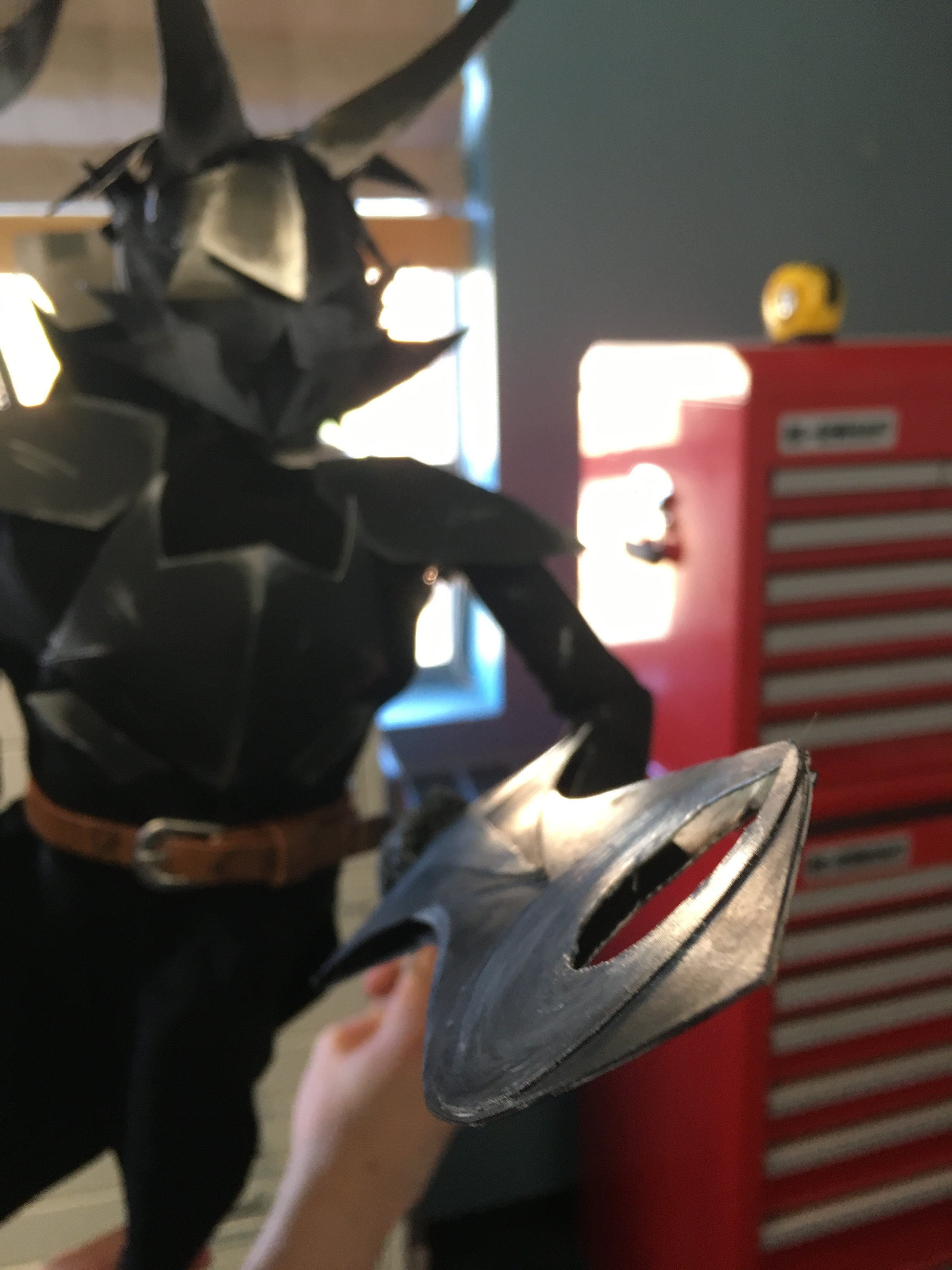 Amazing black knight puppet who didn't make the final cut...