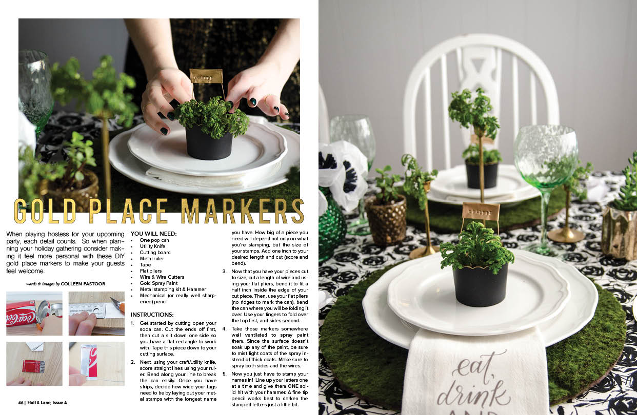 Holl & Lane, Issue 4 Spreads4
