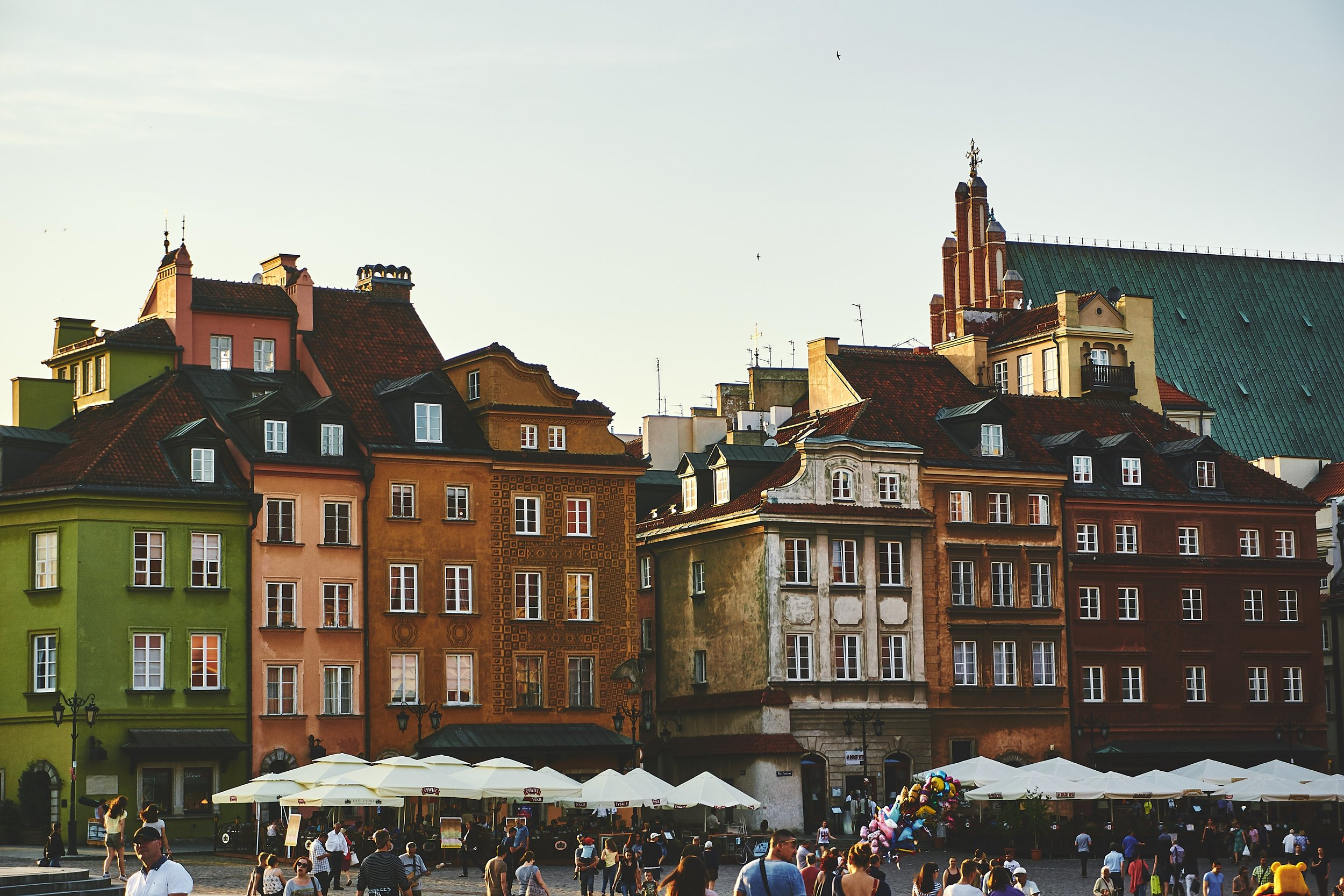 We took a leap of faith, sold all of our belongings, and then moved to Poland.
