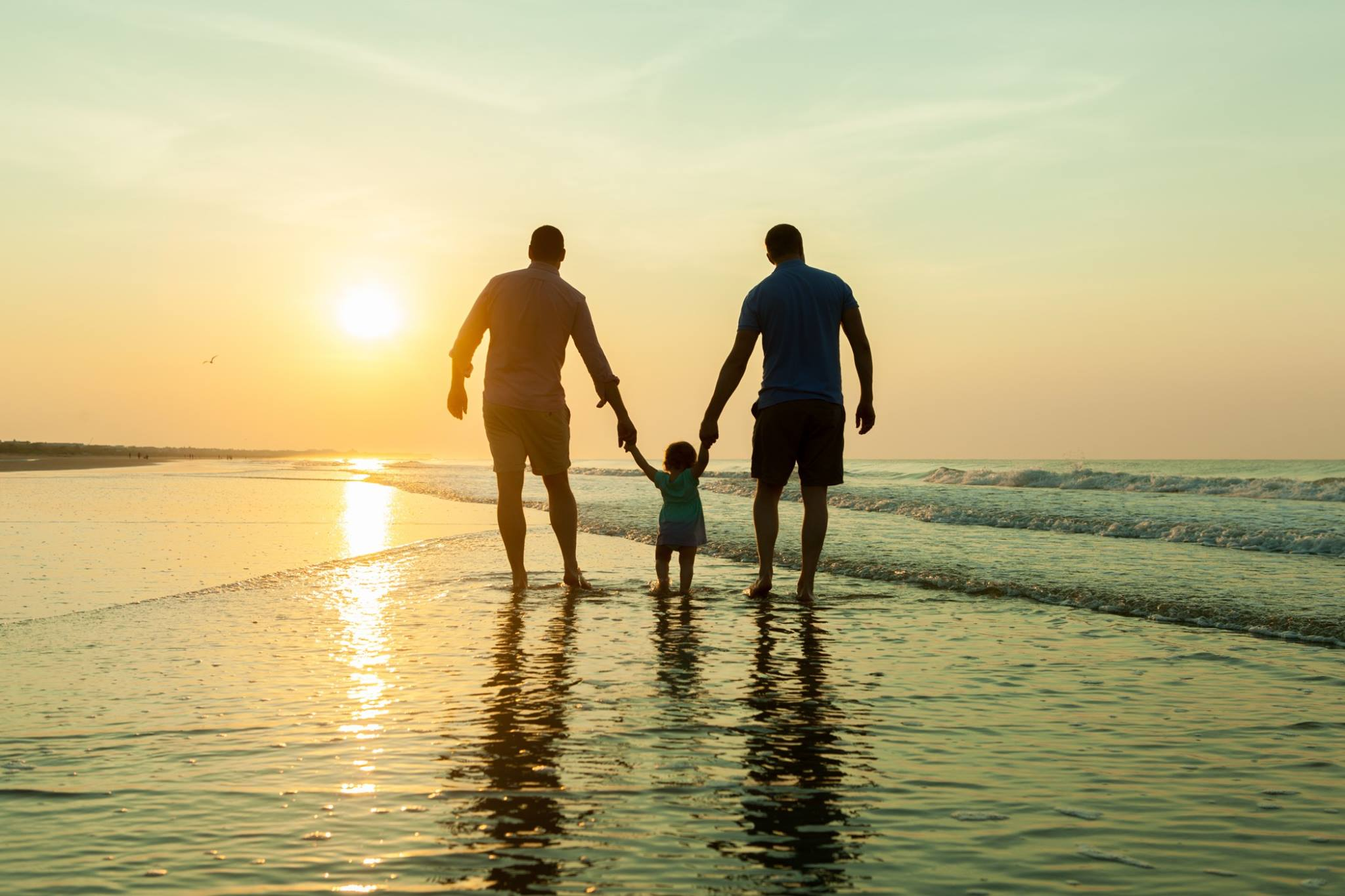 The Love of Two Dads: An Adoption Journey. Same-sex adoption. Adoption to gay couple.