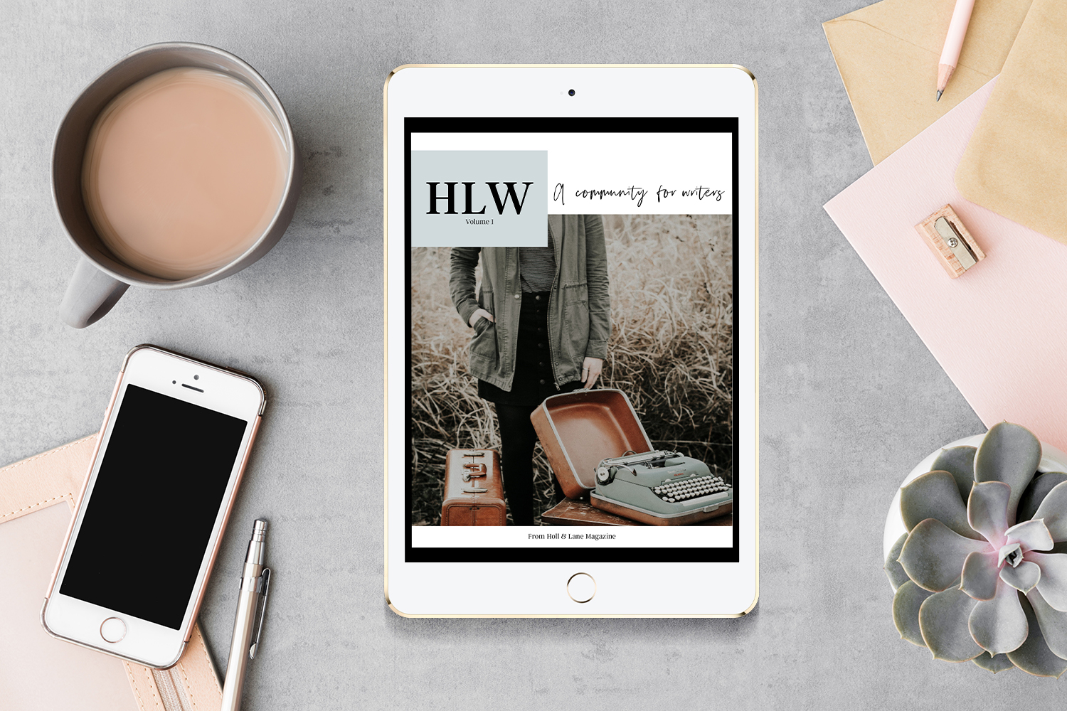 Introducing HLW Issue 1 - a free digital magazine for writers in the H&L Writes community.