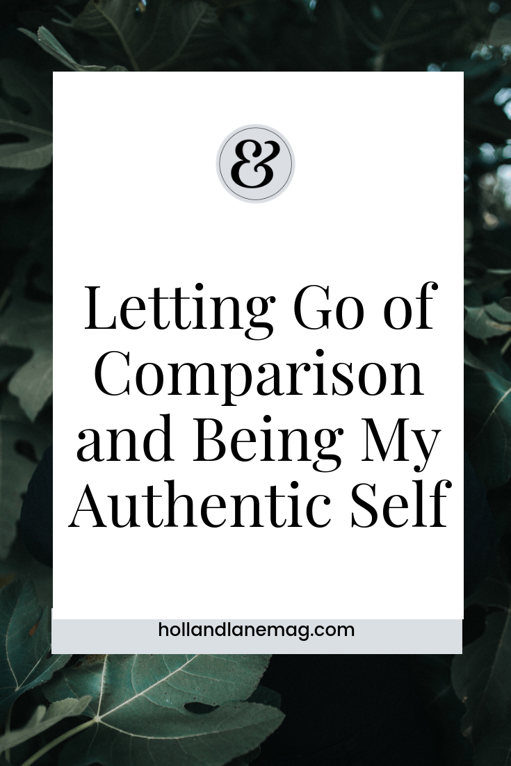 When comparison begins, I begin to lose sight of any truth or beauty within me. Click to read more from Holl & Lane Magazine at hollandlanemag.com