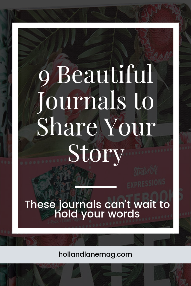 If you're a writer, you need these beautiful journals. Click here to read more from Holl & Lane Magazine at hollandlanemag.com
