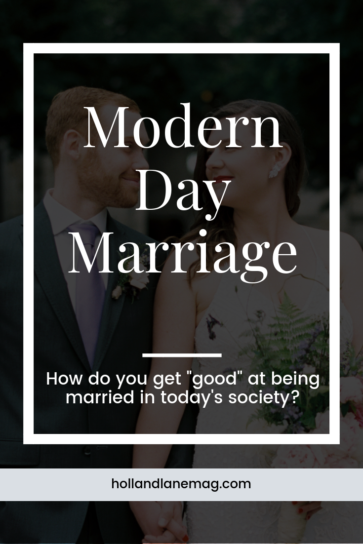 We don't talk much about the nuts + bolts of modern day marriage, but we should. Click to read more at hollandlanemag.com