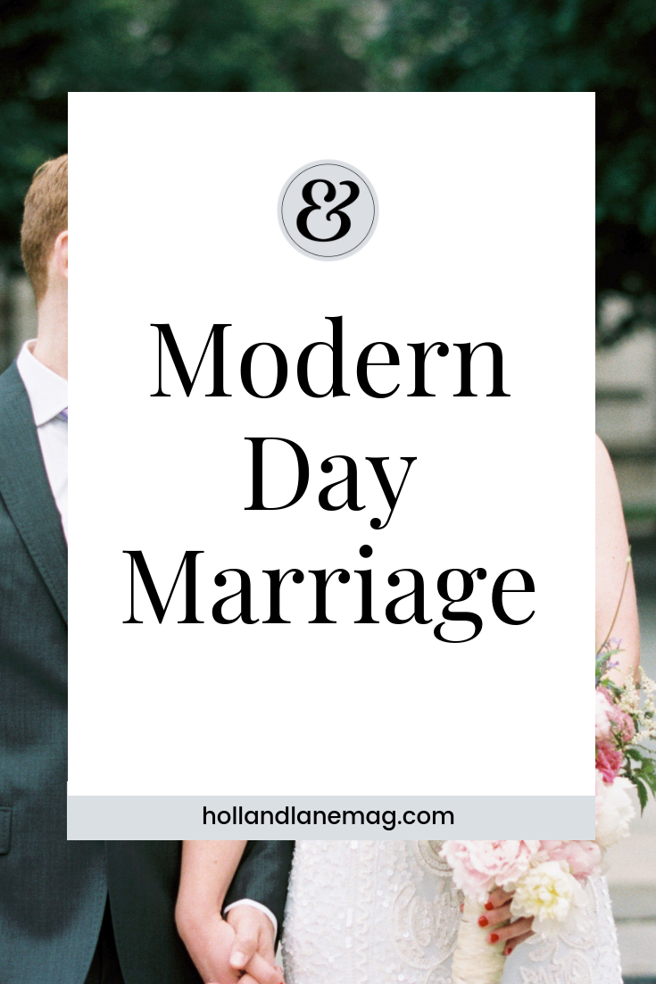 """How do you get """"good"""" at being married in today's society? Click to read more at hollandlanemag.com"""
