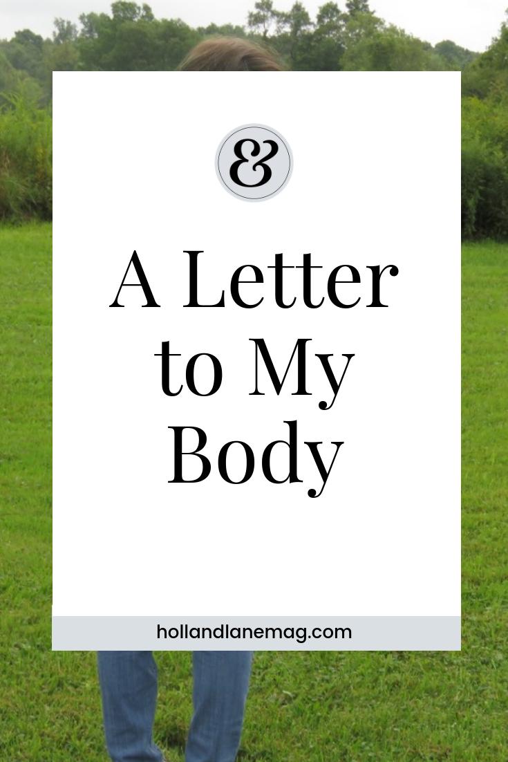 Loving my body through chronic illness. Click to read more at hollandlanemag.com