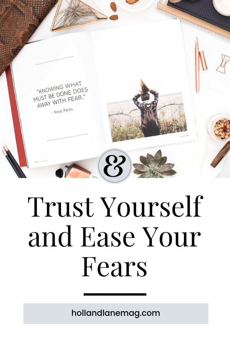 Finally facing my fears of the unknown. Read more at hollandlanemag.com