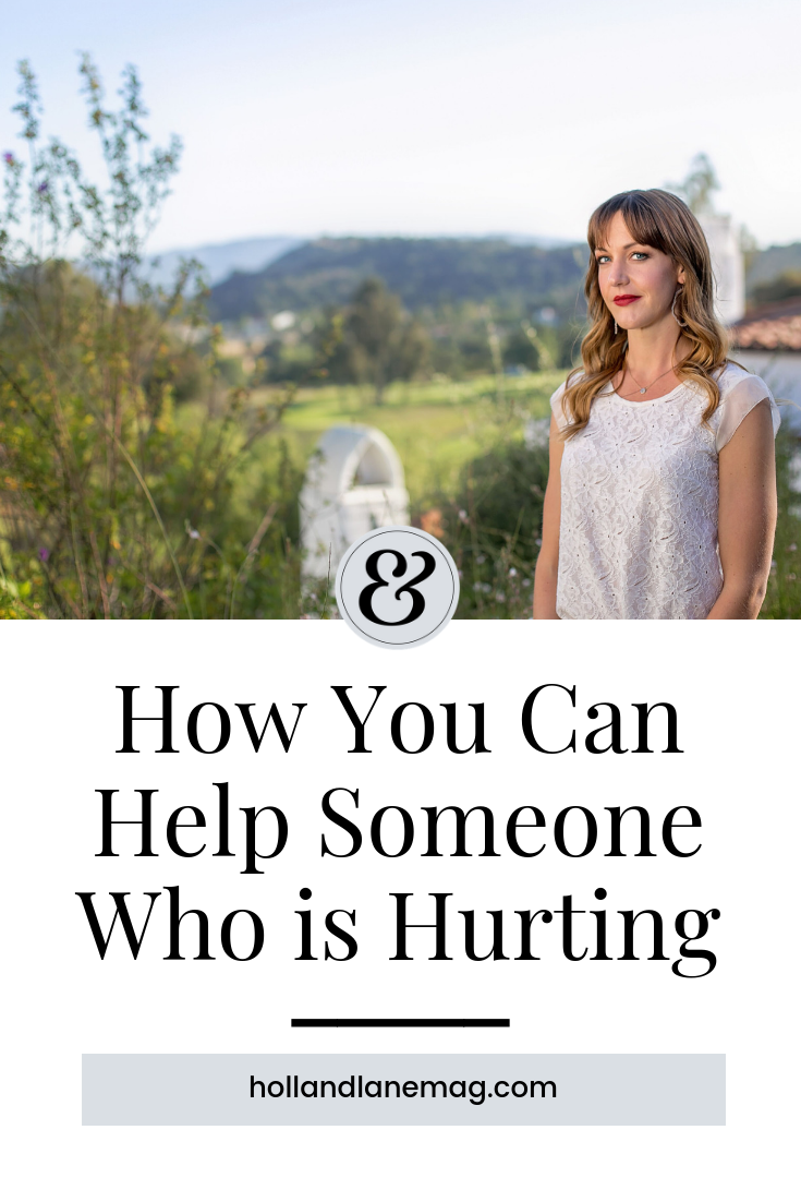 It's hard to watch our loved ones suffer - especially when we're unsure of how to help. Click to read more at hollandlanemag.com