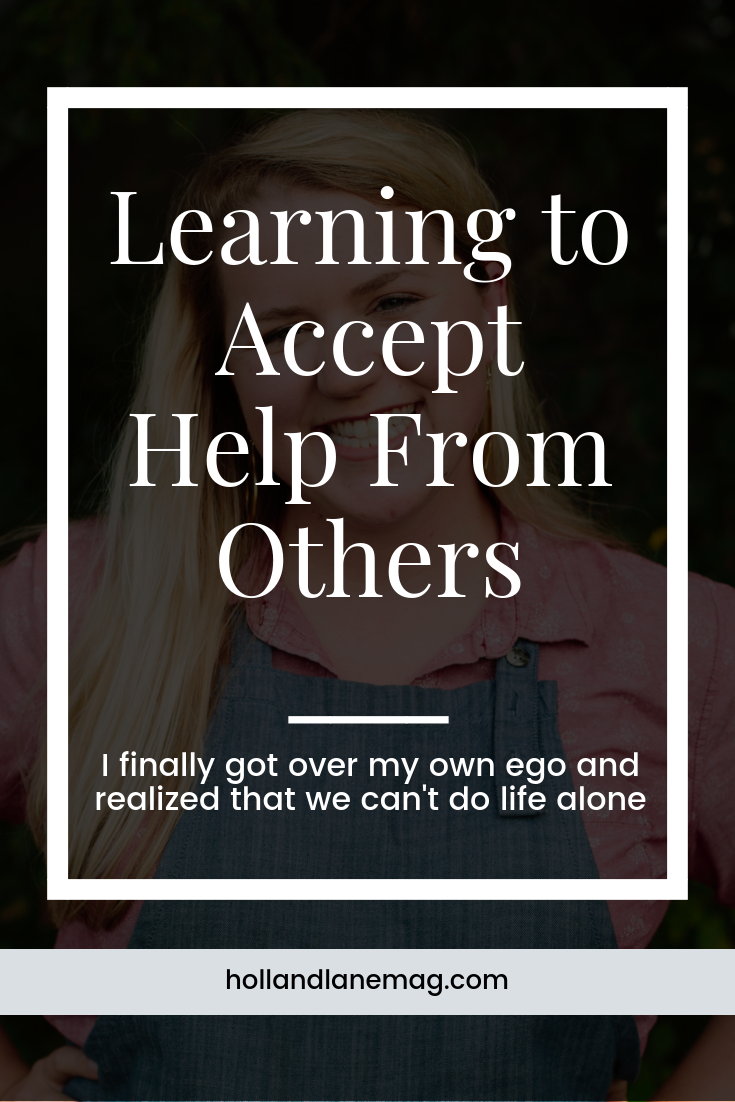 I finally accepted the hands reaching out to pull me back up. Click to read more at hollandlanemag.com