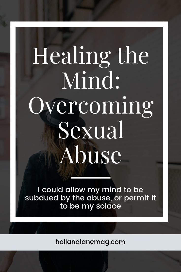 To the survivors of sexual abuse, know you are not alone. Read more at hollandlanemag.com