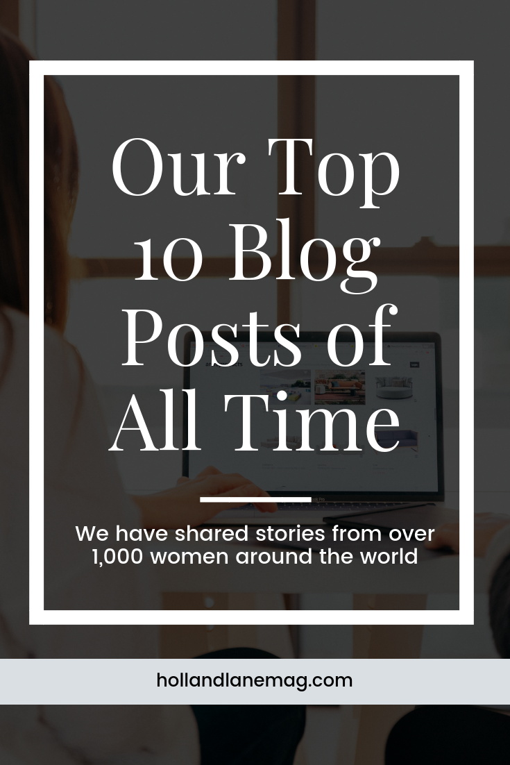 These stories have made us laugh, made us cry, and most importantly, they have brought us together. Read more at hollandlanemag.com