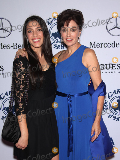 Lily Richards and Stepfanie Kramer at the Carousel Ball 2012