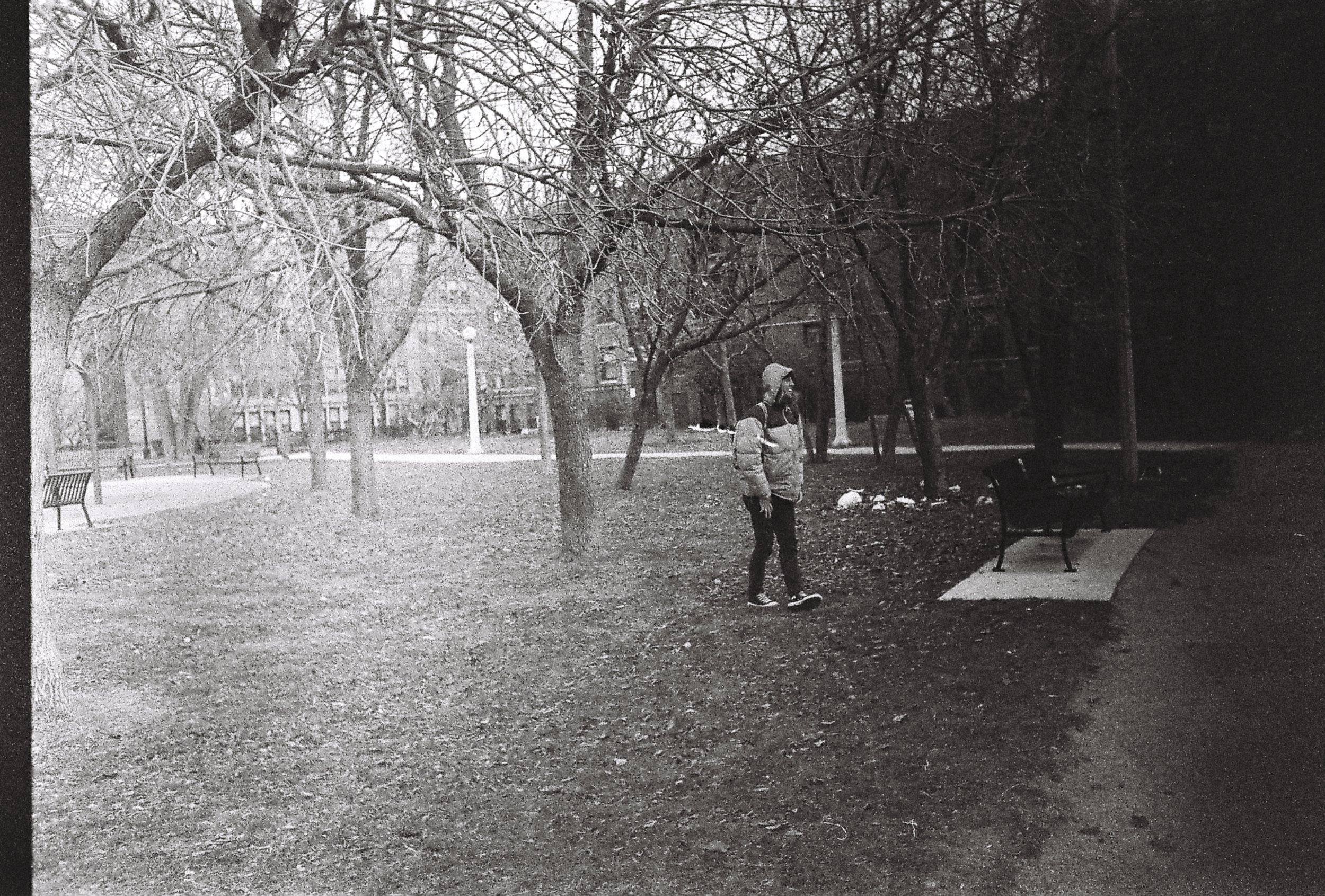 Nic in Chicago Park