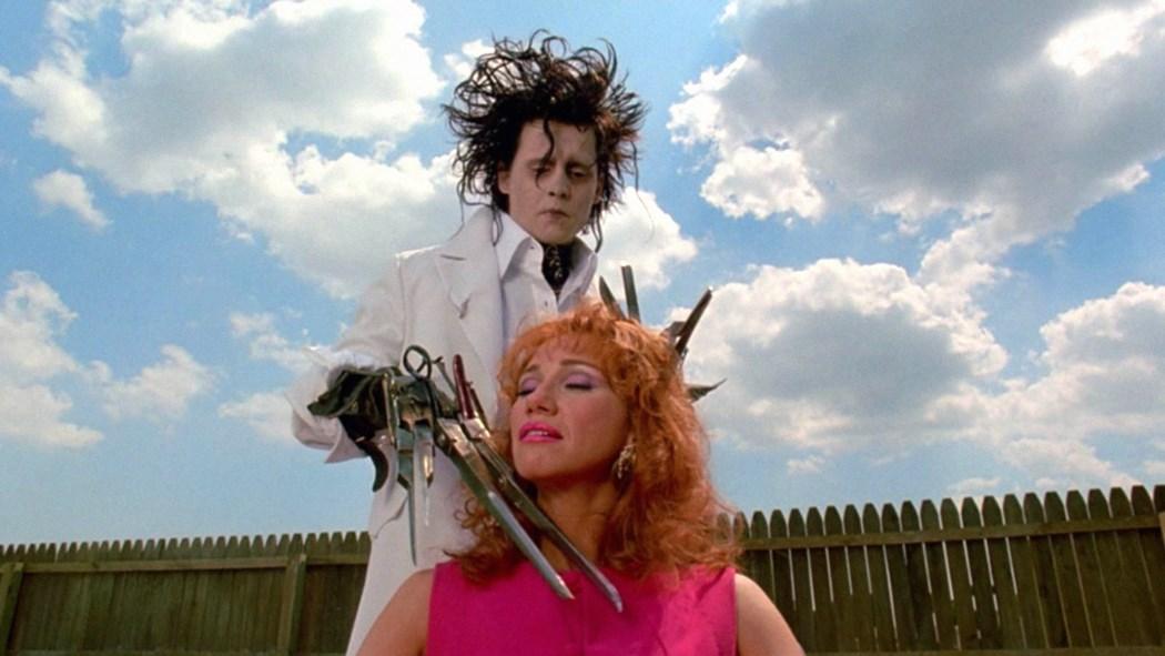 Edward Scissorhands by Tim Burton