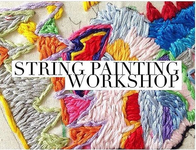 The String Painting Workshop is back! 🌈  Come and learn the beautiful and self expressive technique of embroidery! . Saturday March 17th  1-3:30pm  @balancedstudio $50 (includes all materials and a take home embroidery kit) . This is a beginners based workshop so even if you have never picked up a needle and thread you will be pleasantly surprised at how quick you can get in the Flow of creative stitching and start establishing your own thread style 💥 Bookings through DM or madiluschwitz@gmail.com