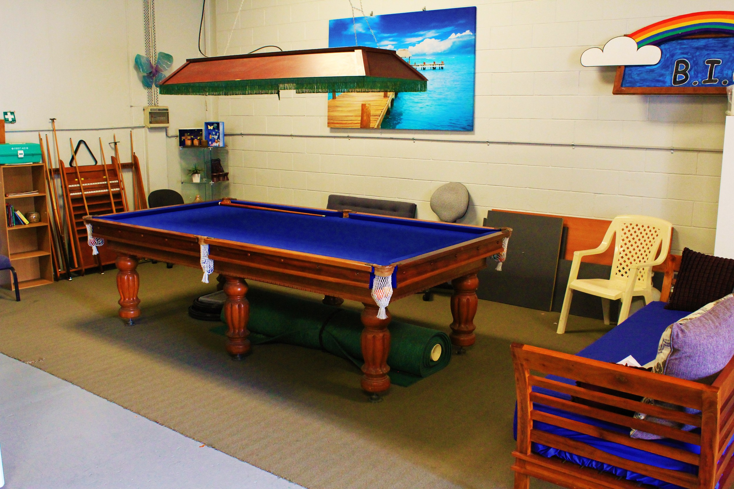 BIG - Bayside Initiatives Group Inc. - POOL TABLE