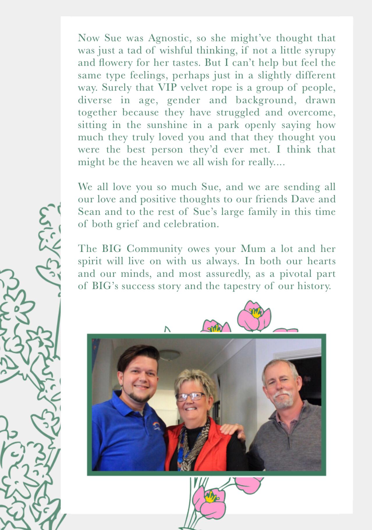 Susan Greenwood (1948- 2019) Memorium - page 6