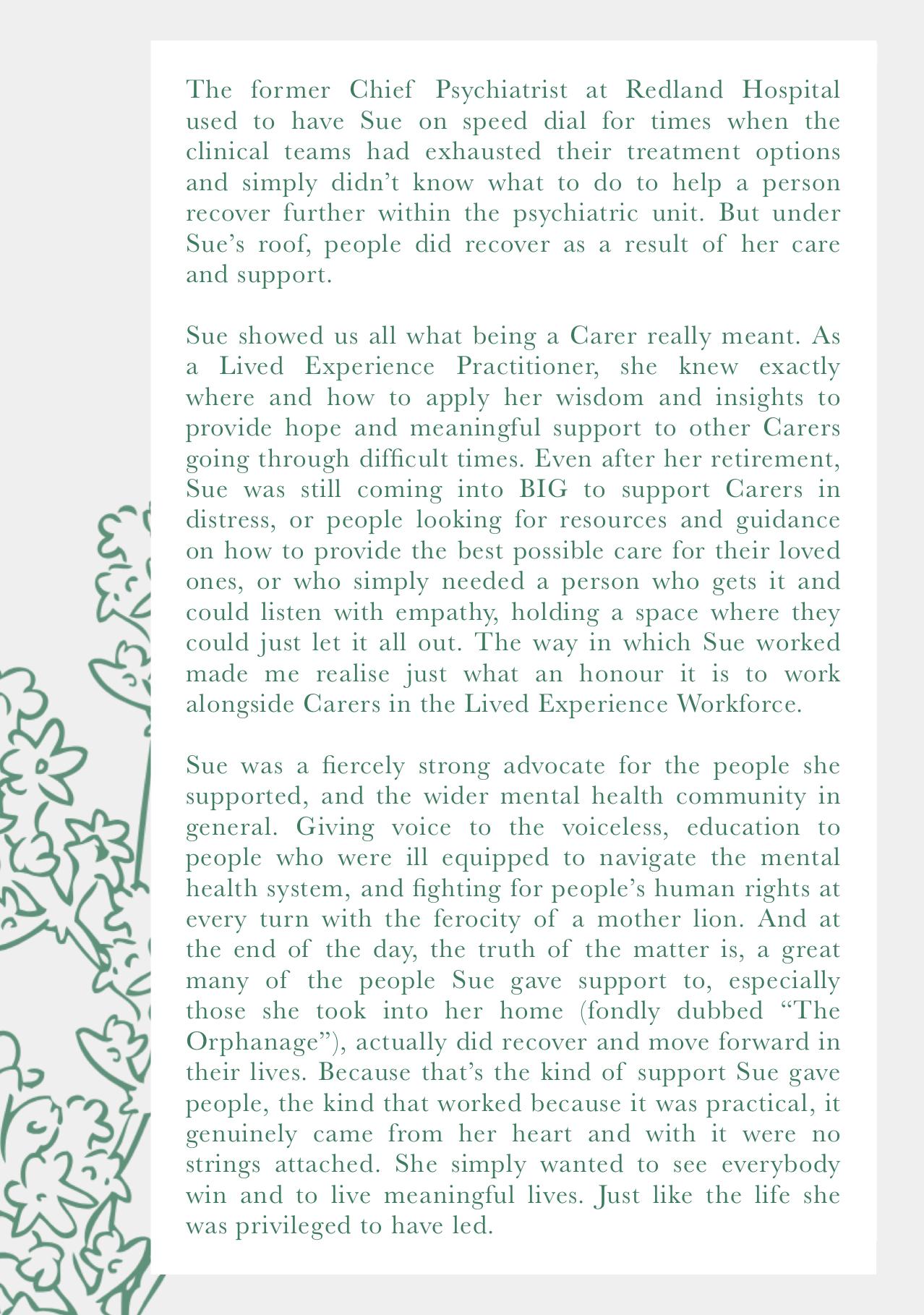 Susan Greenwwod (1948- 2019) Memorium - page 3