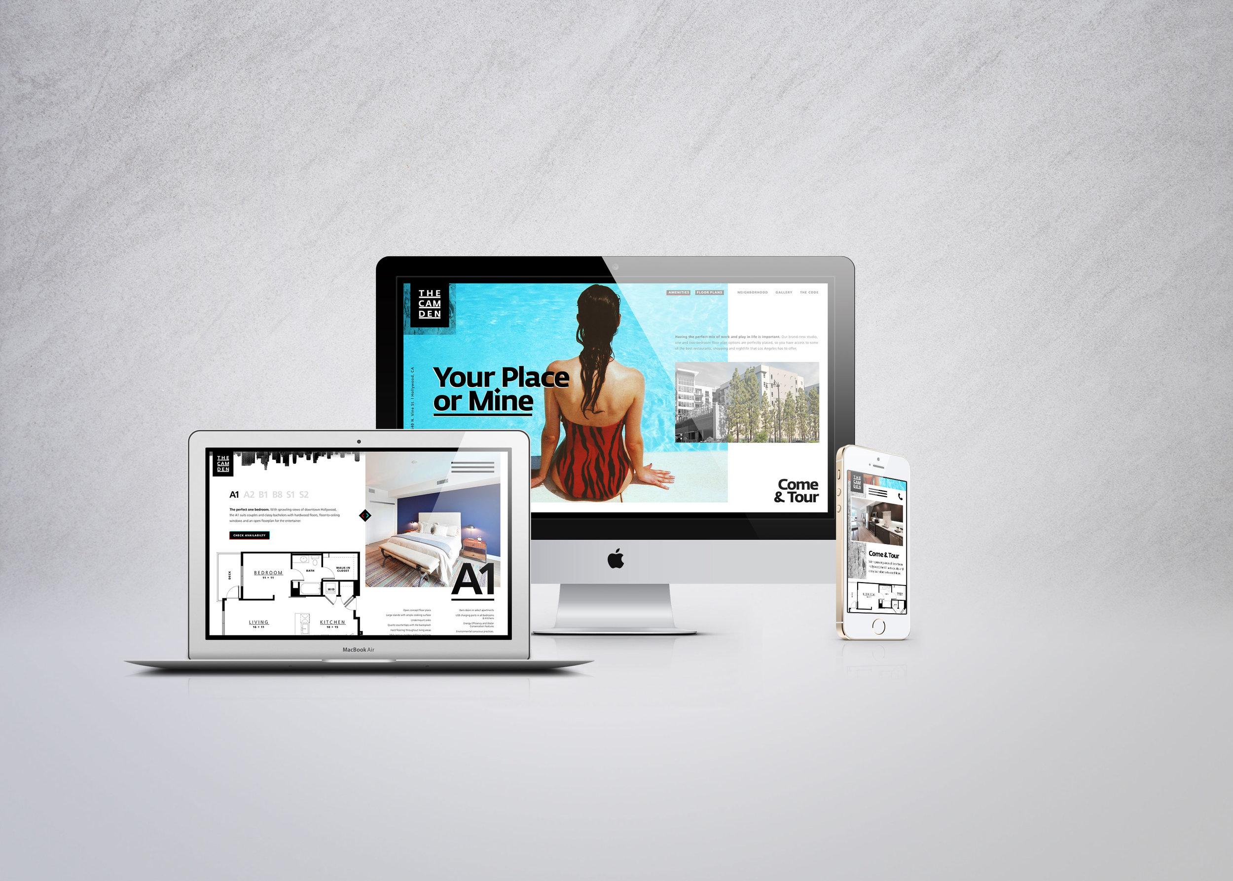 The Camden Website