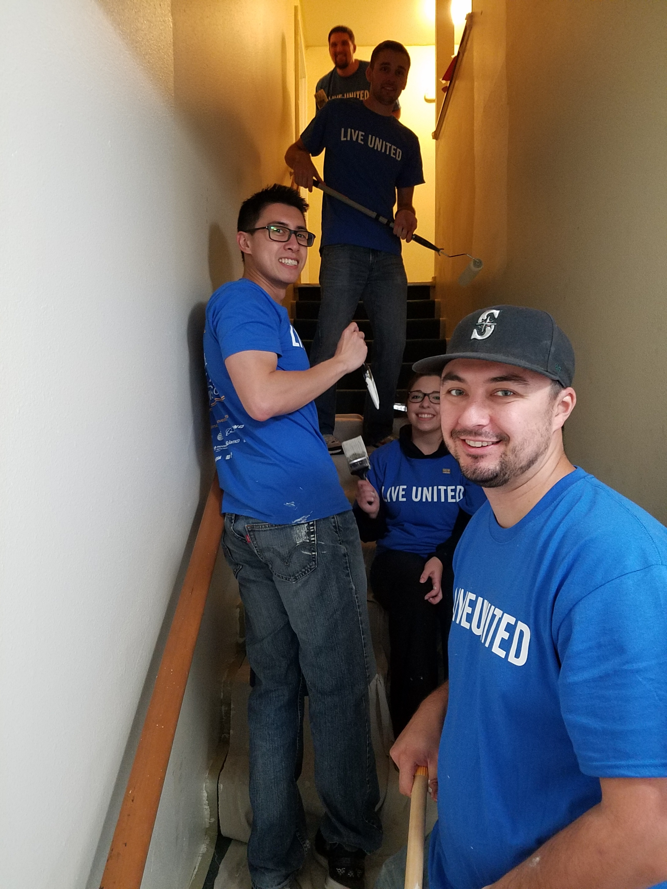 Volunteering for Friends of Youth (United Way Day of Caring)