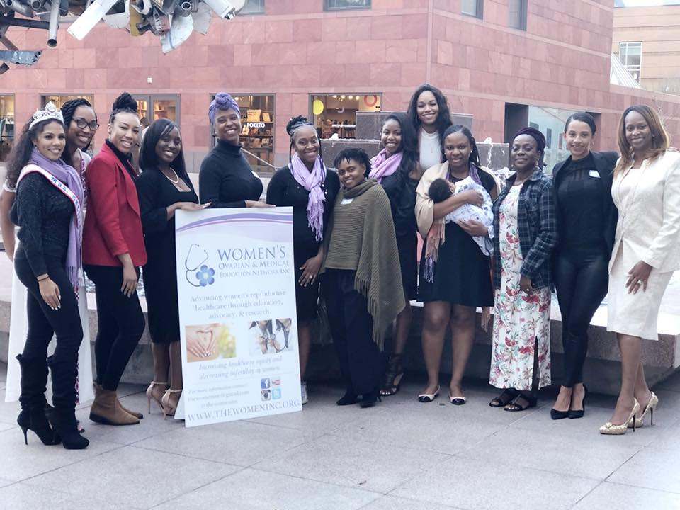 Women's Healthy Hour guests with the board of W.O.M.E.N. Inc.