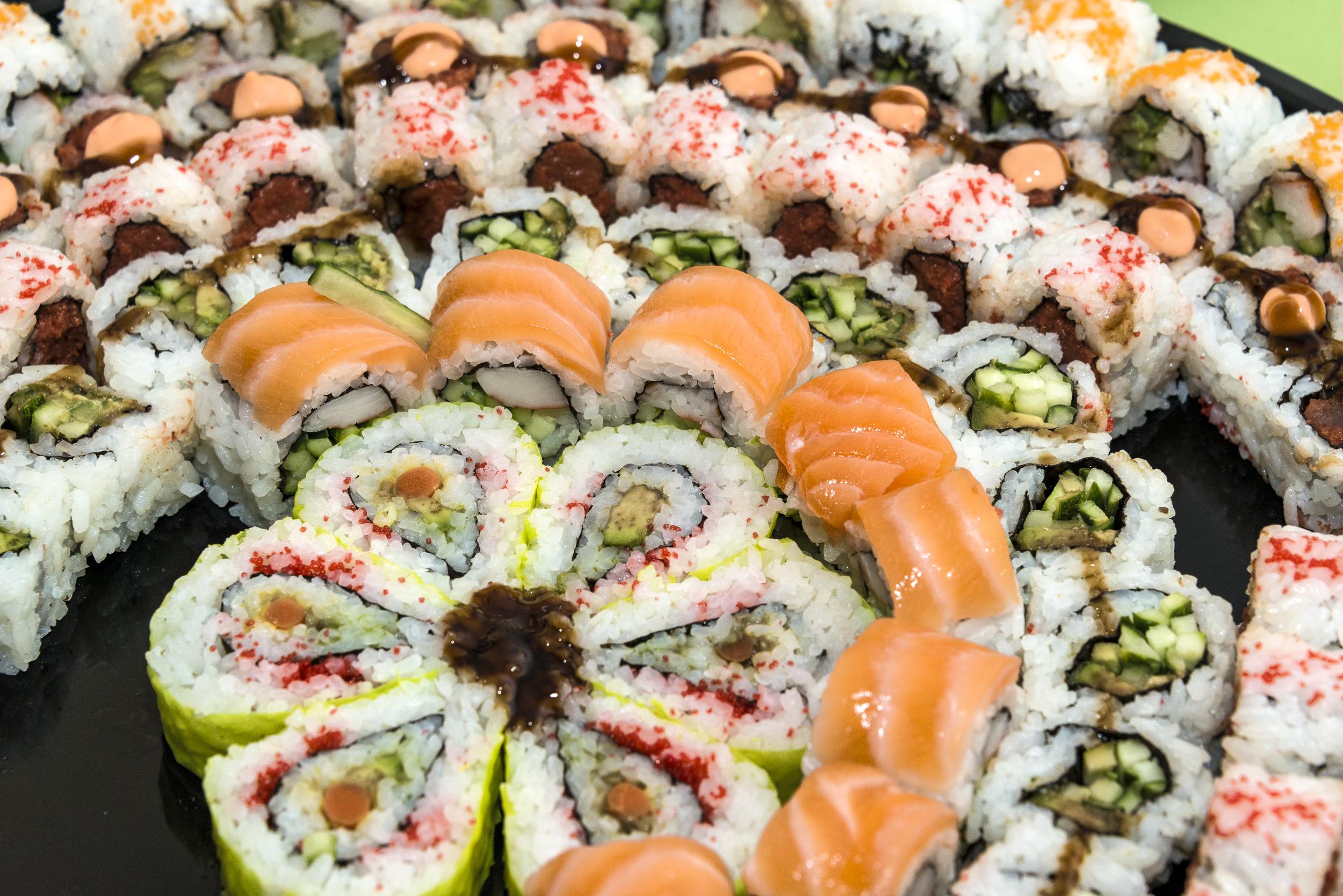 Sushi from Sushi Metsuyan