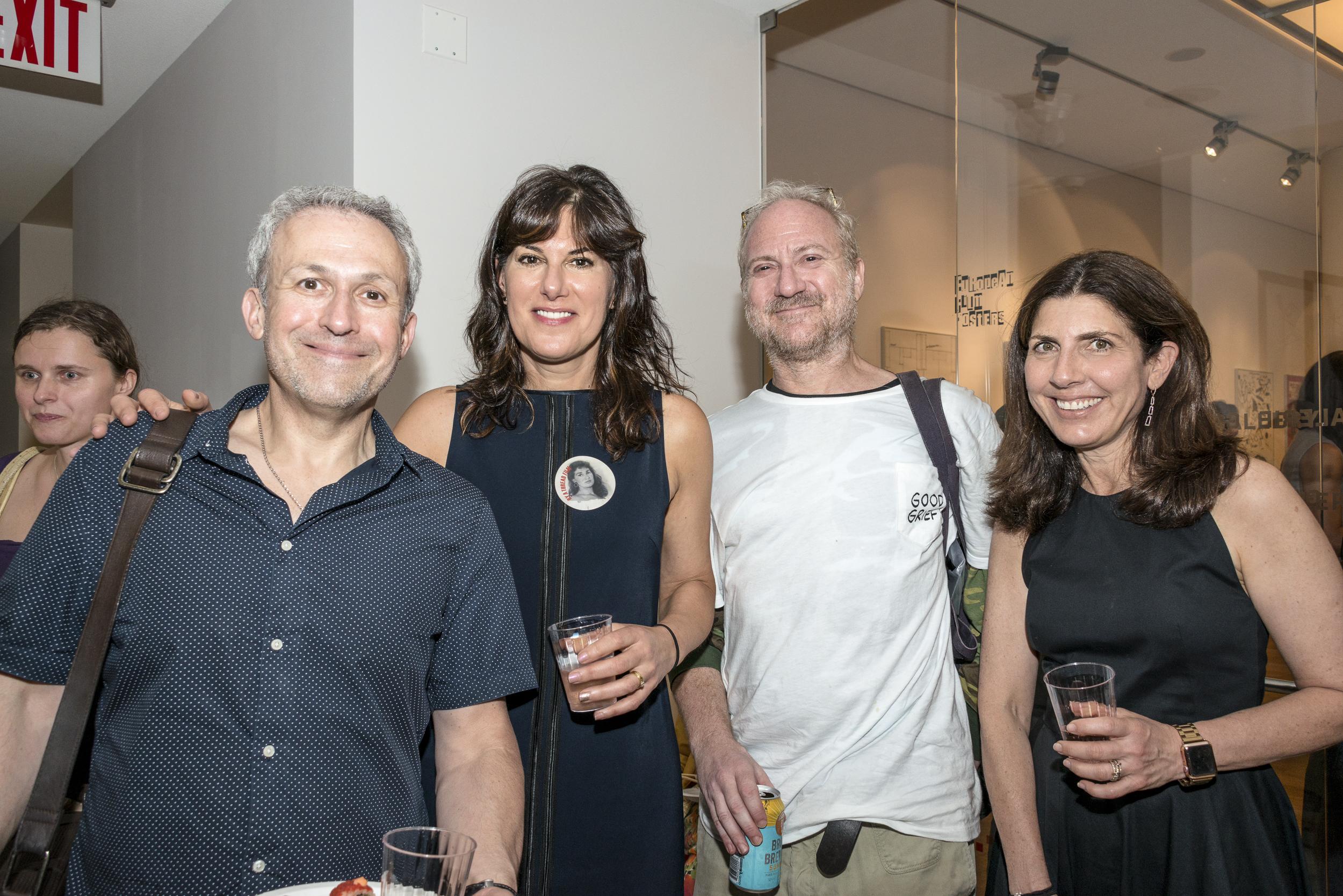 (L-R) HBO's Rob Stein, Marisa Fox, Scooter Alpert and Valerie Feigen