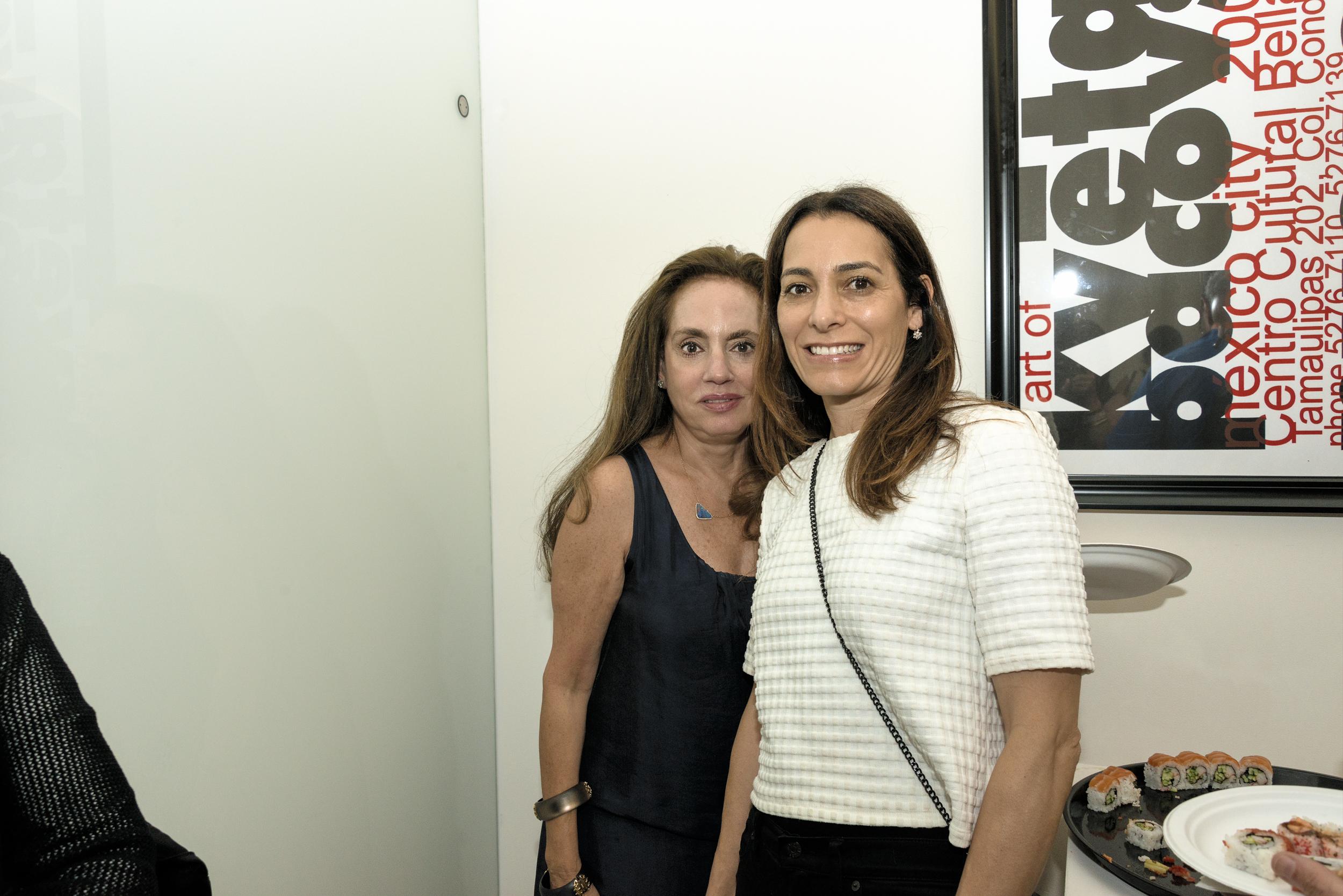 (L-R) Karen Banschick and Stacey Brooks