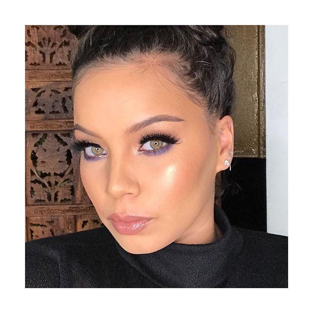 The beautiful @allhailkingsteph  #harlemmakeupartist #minklashes #beautyandbrains #nycmakeuparist