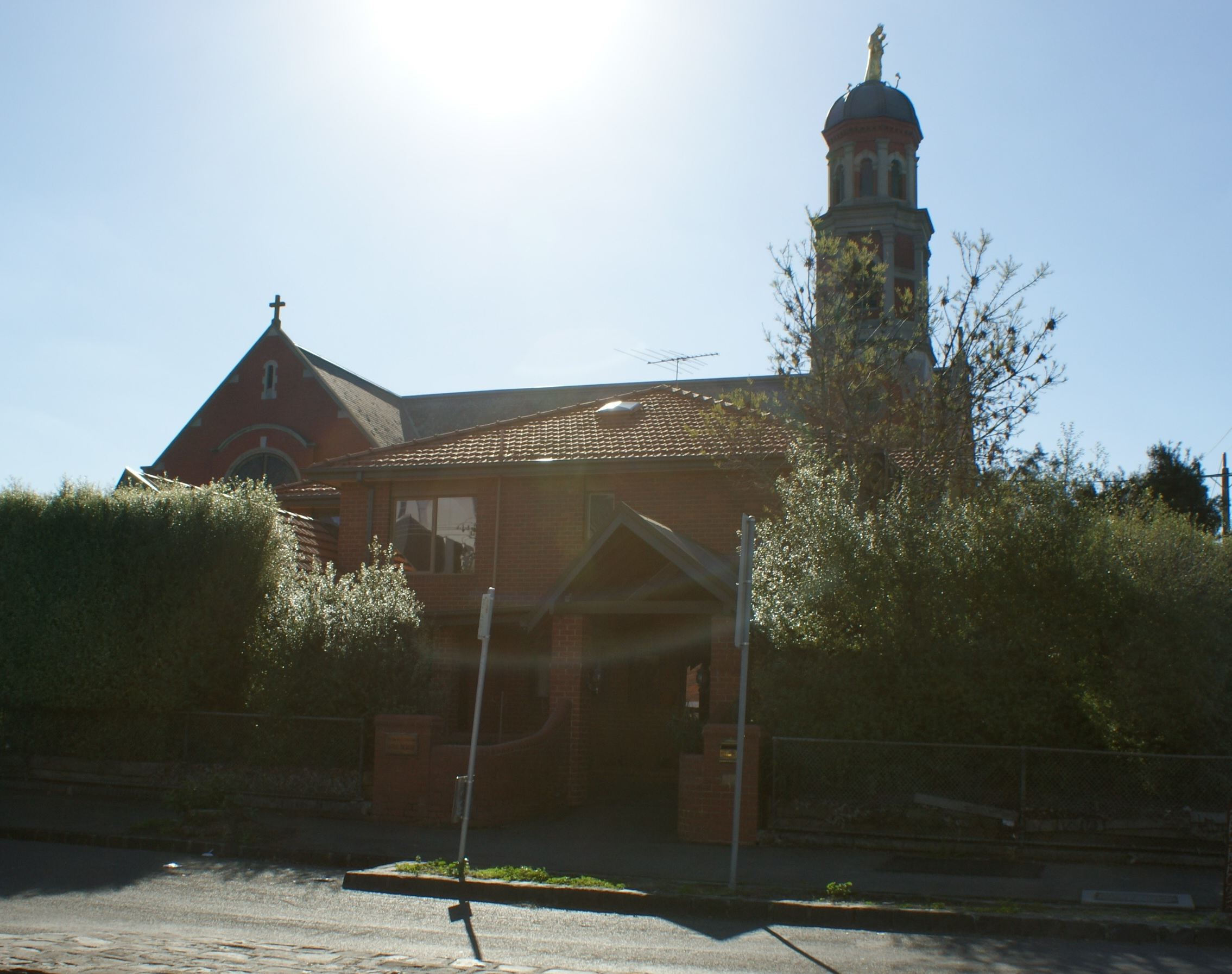 OUR LADY'S PARISH HOUSE   Located next to the church, the Parish House not only provides accommodation for people at various times but is also used for parish meetings. It also offers accommodation for asylum seekers.