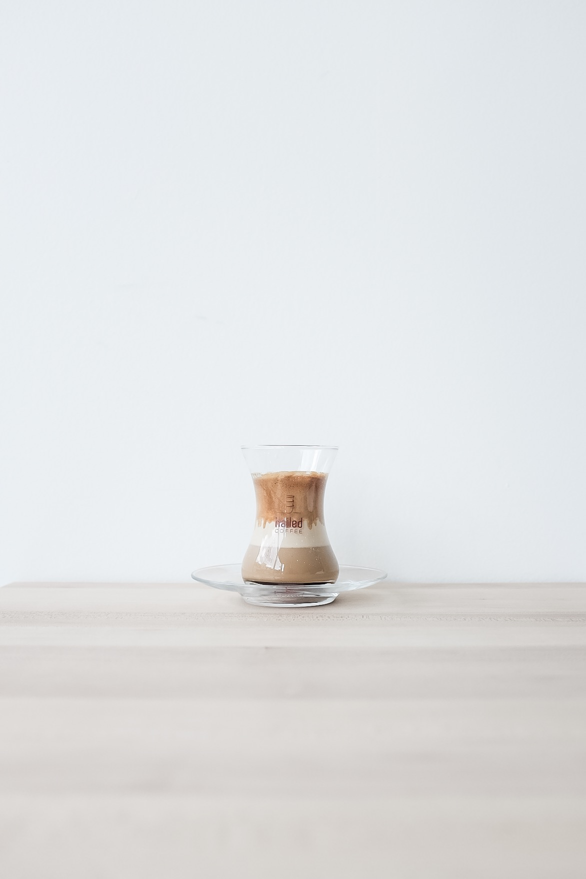 The cortado here is considered one of their signature coffees.