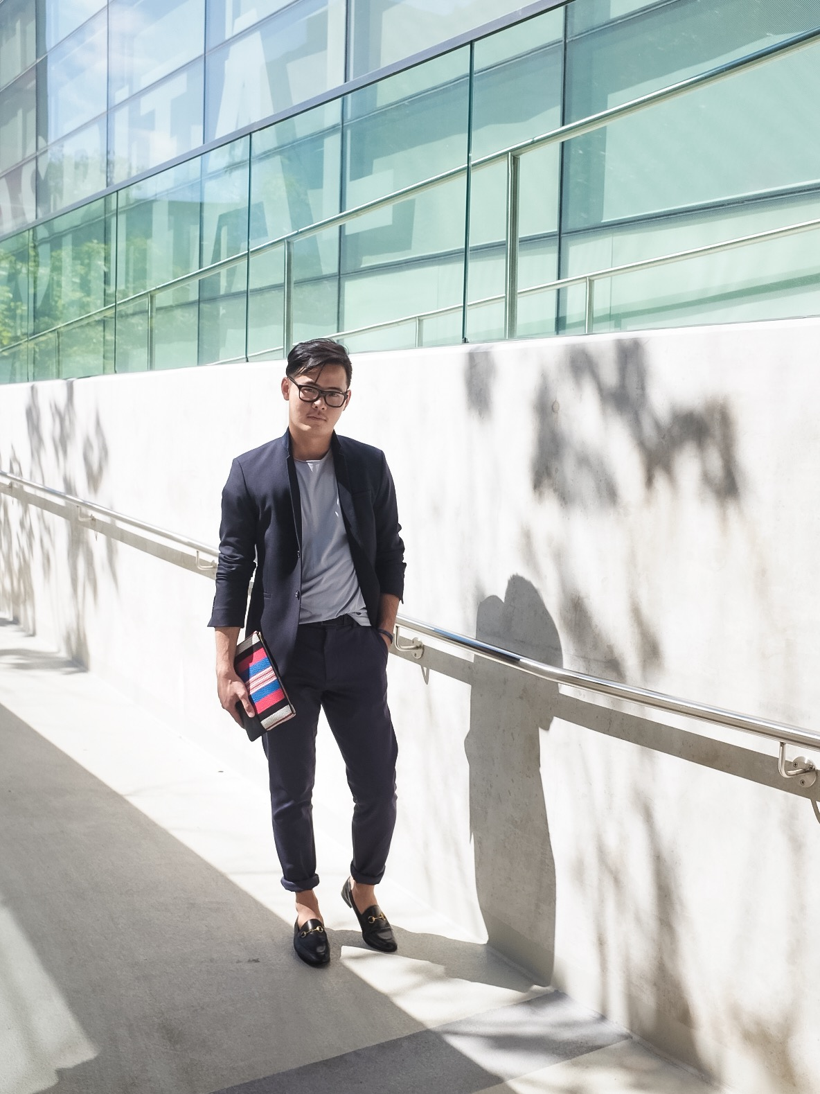 All dressed up. Outfitted by COS for one of the day.Clutch: Celine, Shoes: Gucci.