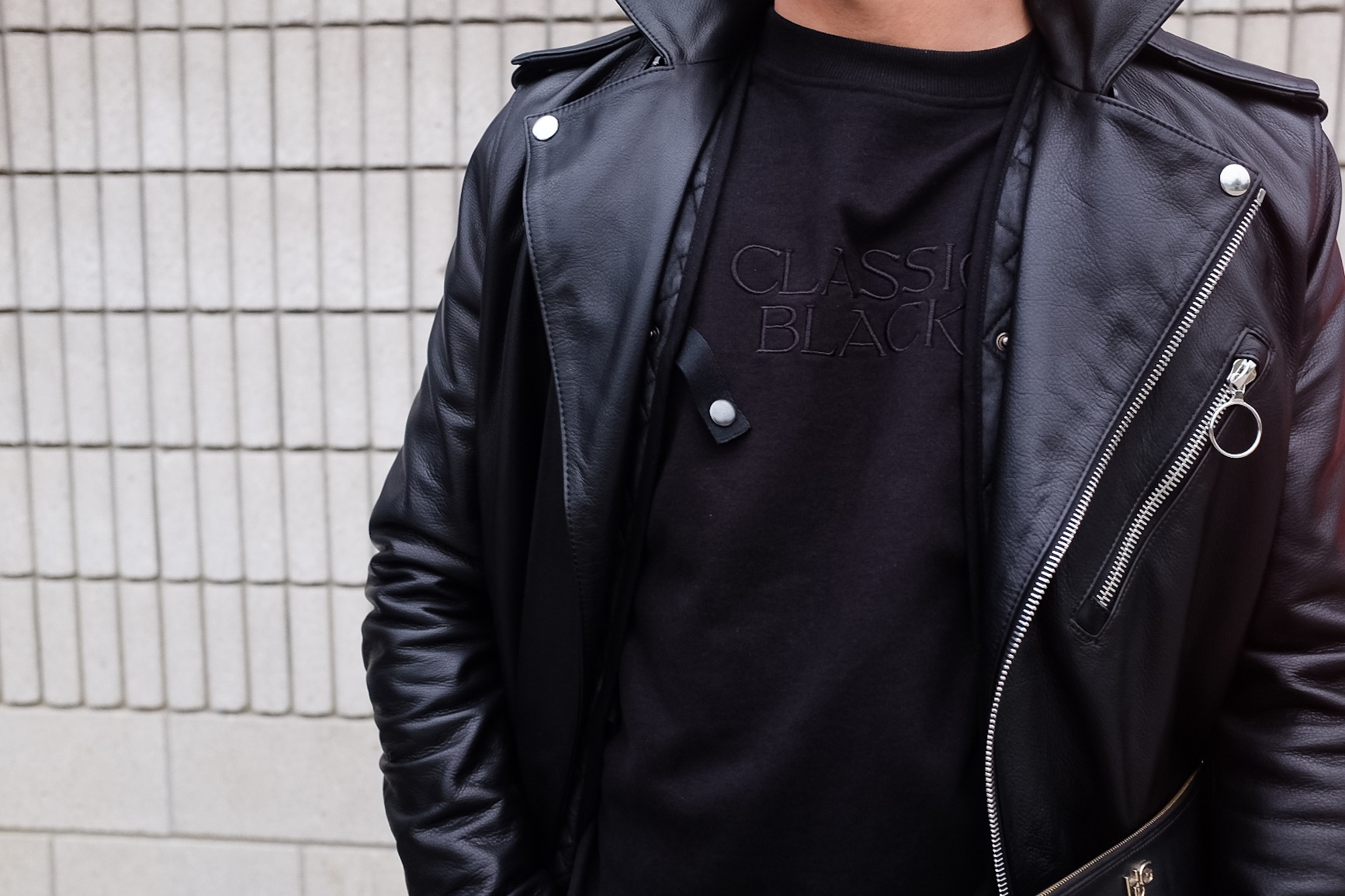 Keeping it Classic with black.