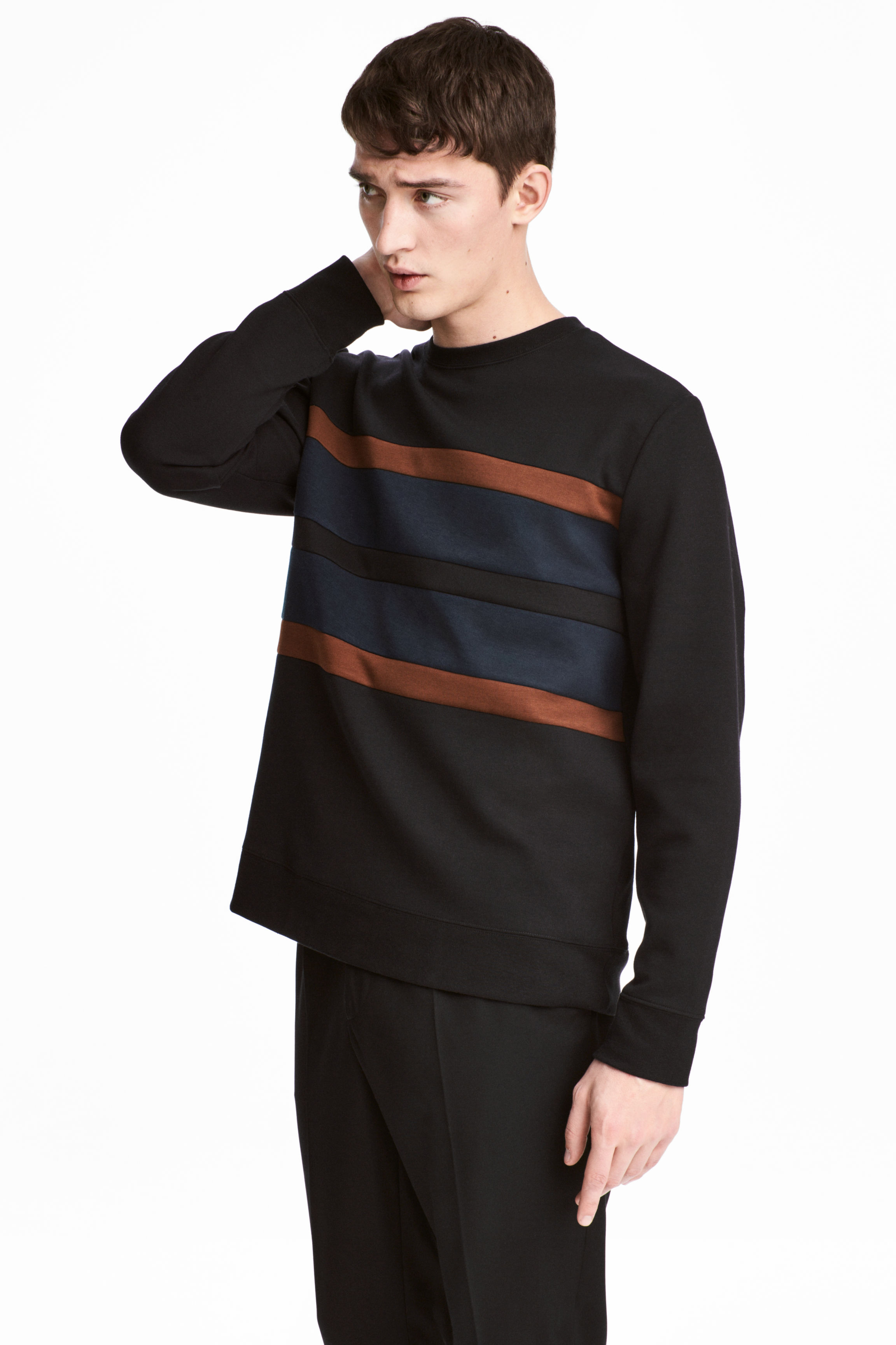 H&M Block Striped Sweatshirt $14.99.jpeg