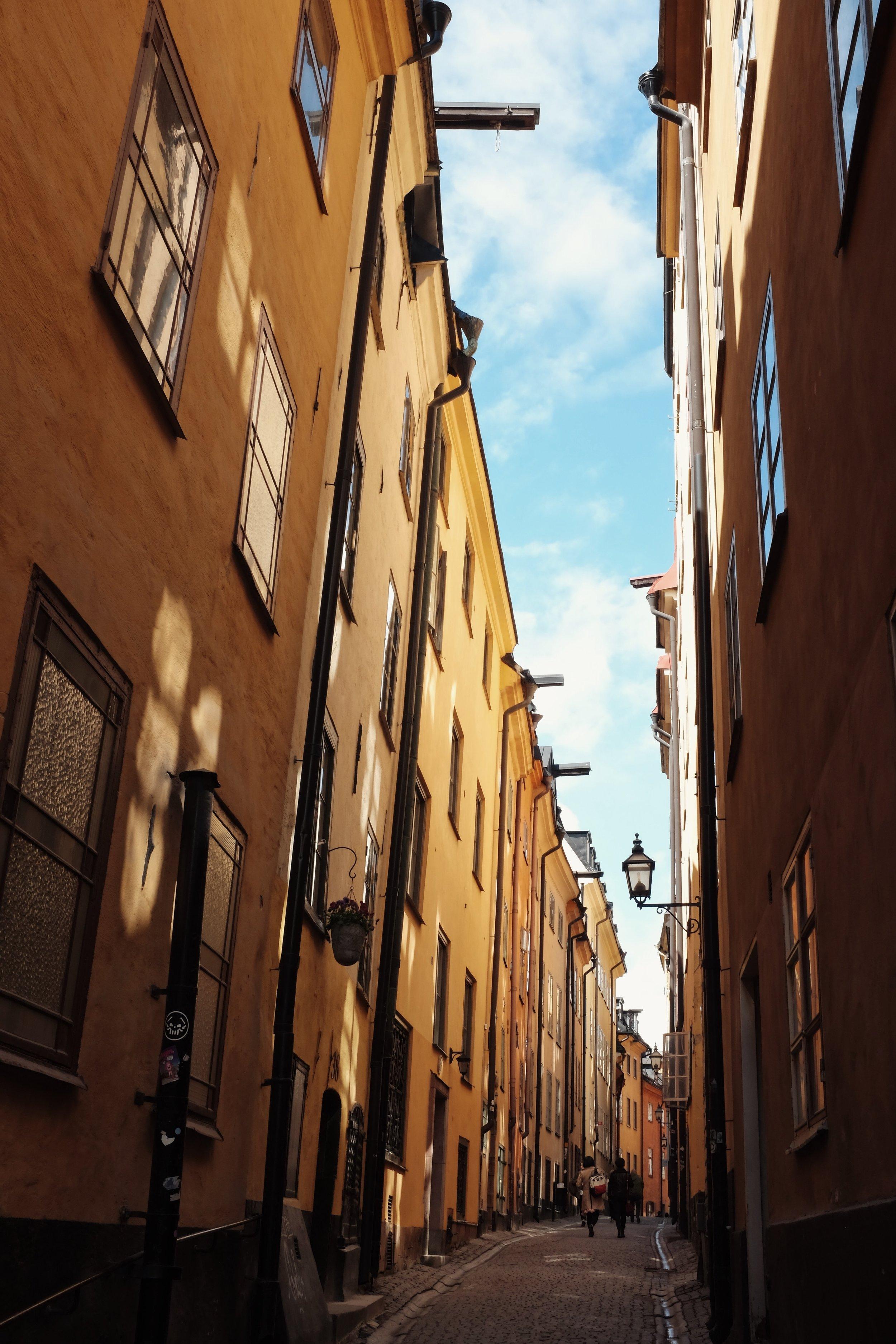 stockholm gamlastan
