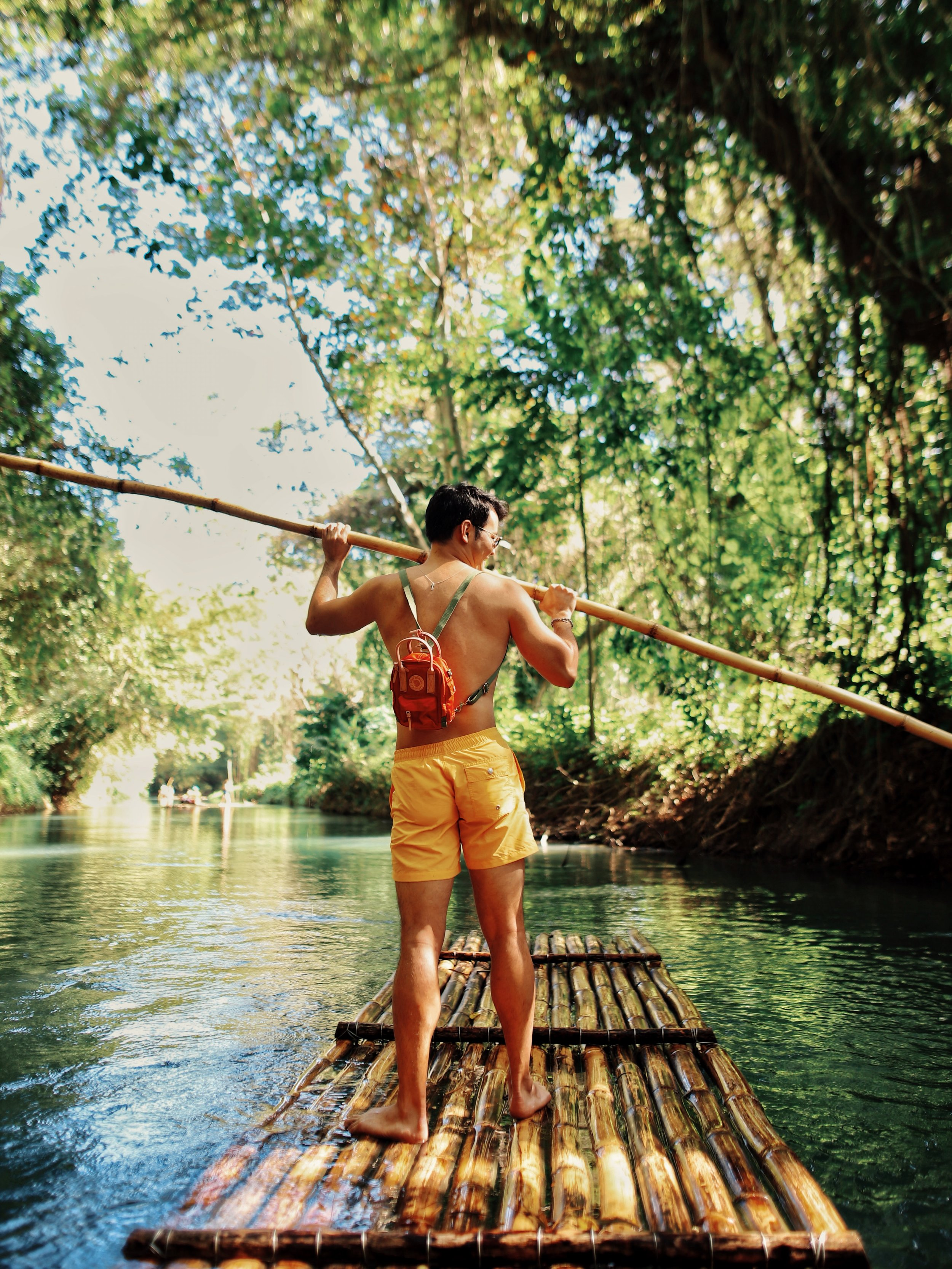 Jamaica Martha brae river rafting