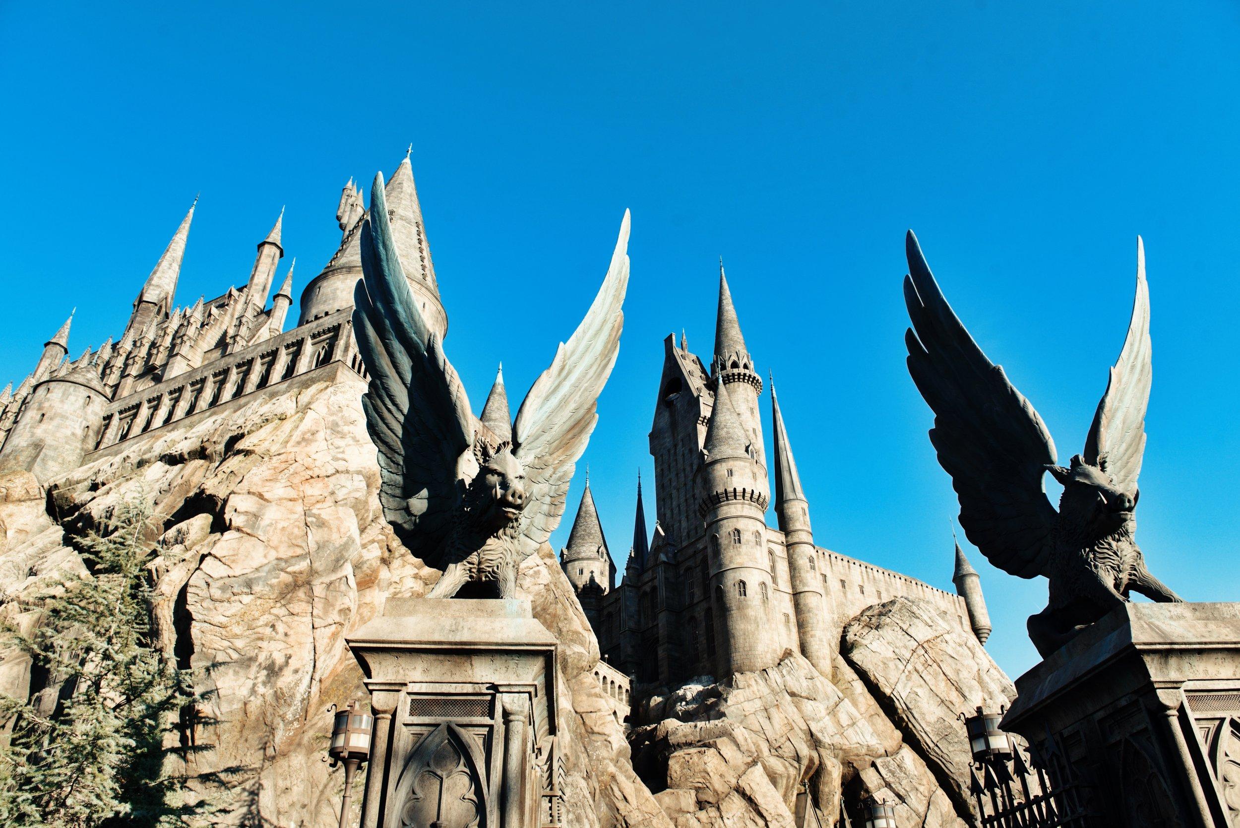 hogsmeade Harry Potter world