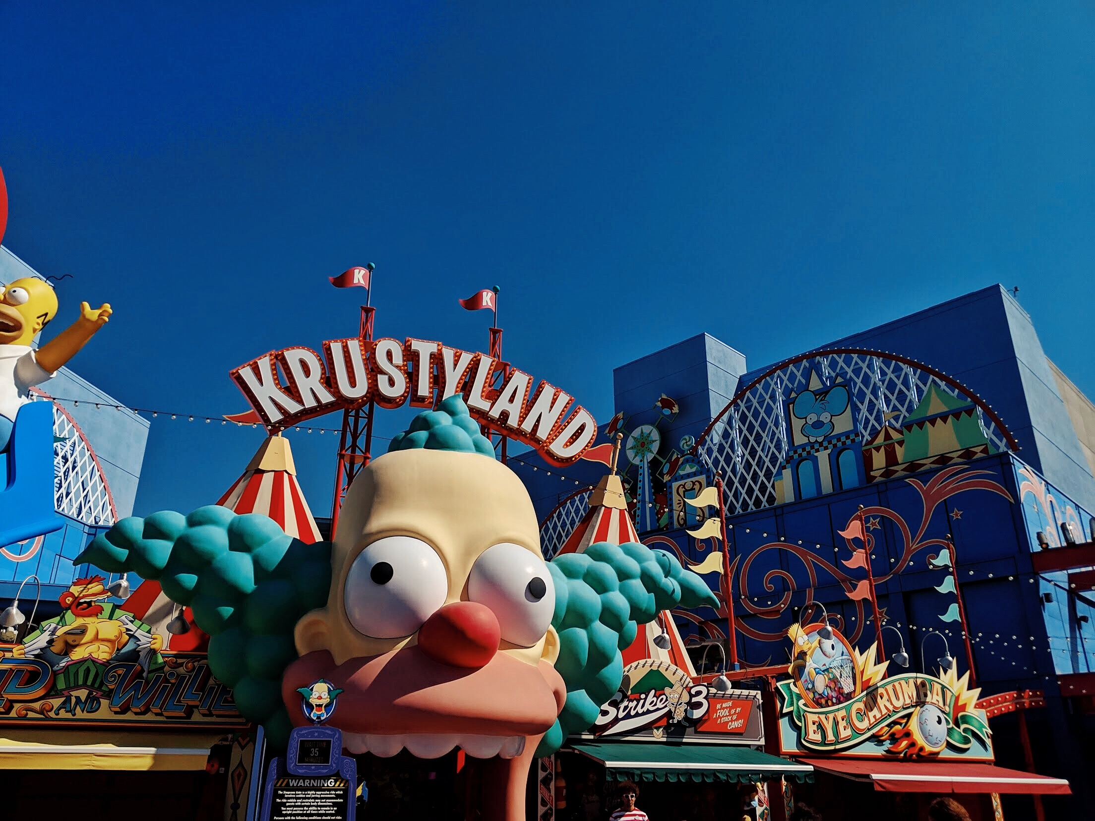 Krustyland the Simpsons