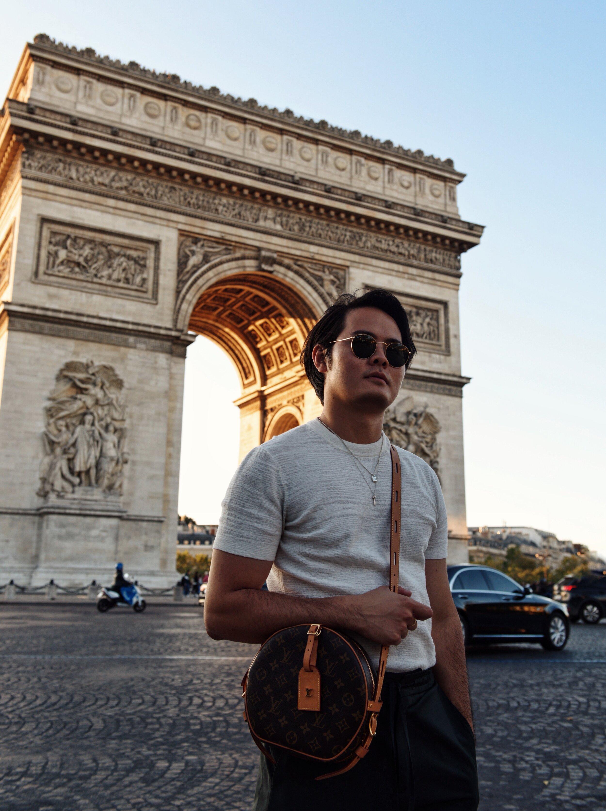 Paris arc triomphe